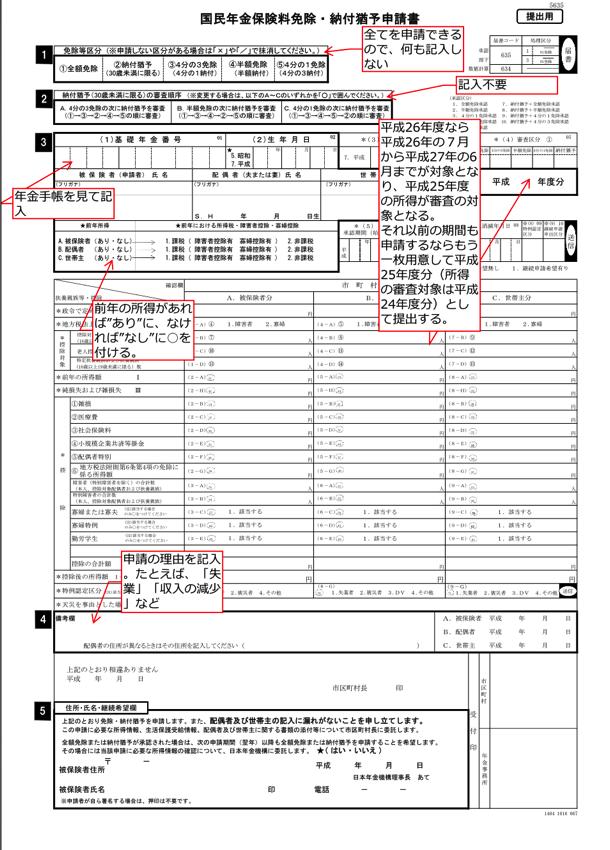 Application sample