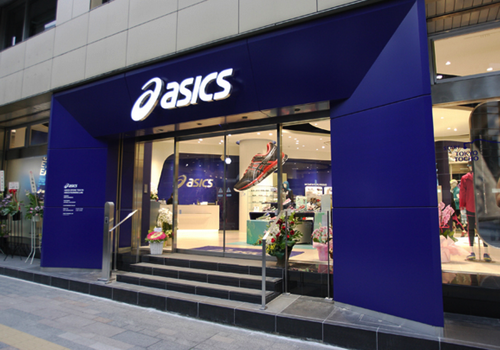Asics tokyo store