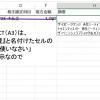Excel関数 INDIRECT関数とドロップダウンリストを使って、摘要欄の入力を効率的に