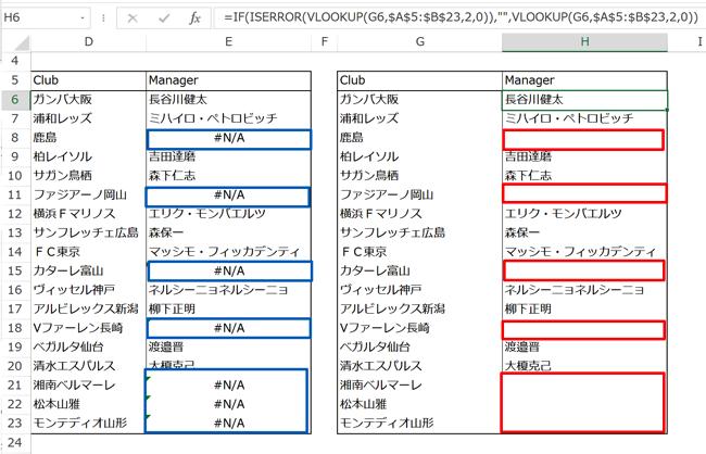 Excel関数は組み合わせて使う 関数のエラーを、IF関数とISERROR関数で非表示に