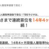 2015年10月度ラジオ聴取率調査結果発表! 「TOKYO FMの地固め」「文化放送の苦戦」の姿が見えてきました